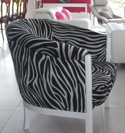 fauteuil tonneau tissu. Black Bedroom Furniture Sets. Home Design Ideas