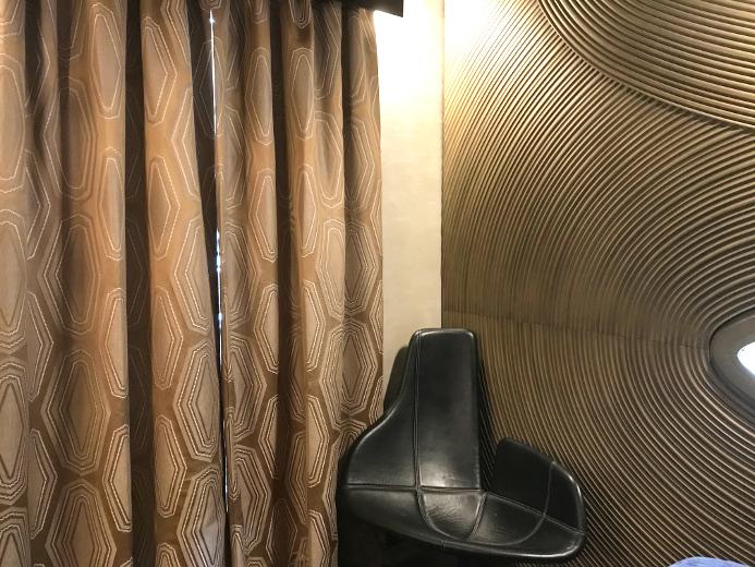 Grand Hotel Tissu Ameublement Design Graphique Stye Art Déco De