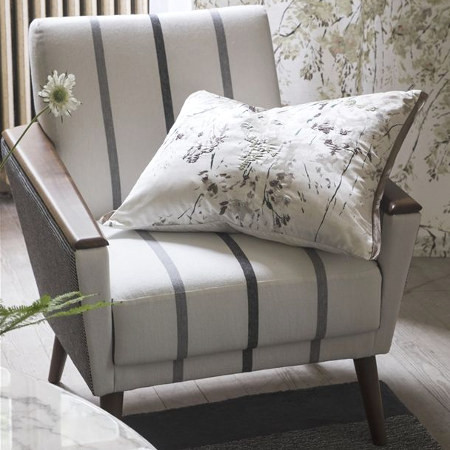 brera nastro tissu ameublement lavable pour fauteuil et canap et rideau imprim rayures en lin. Black Bedroom Furniture Sets. Home Design Ideas