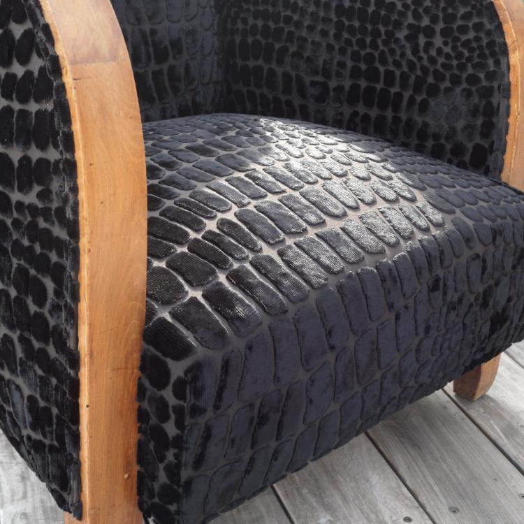 Nabucco Tissu ameublement velours fauteuil Designers Guild vendu par ...