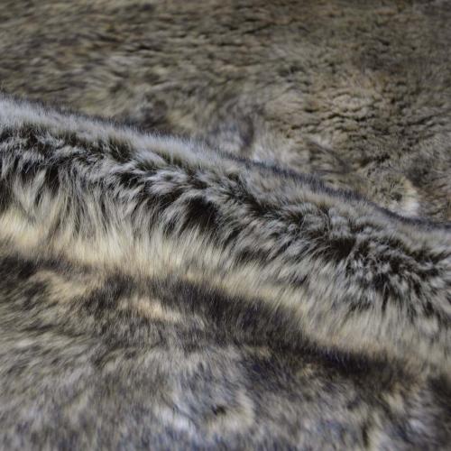 Tissu casal fausse fourrure pour jet s et plaids for Plaids fausse fourrure pour canape