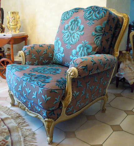 Tissu galliera for Tissus ameublement velours motif