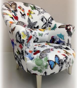 les tissus d 39 ameublement pour tapisser les fauteulis crapauds vendus par la rime des mati res. Black Bedroom Furniture Sets. Home Design Ideas