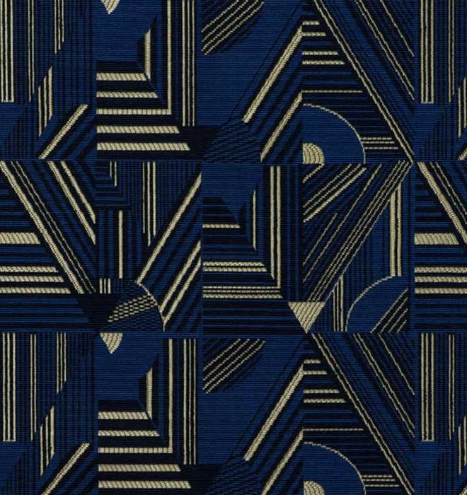 kasai tissu ameublement imprim style art d co ethnique afrique de leli vre pour rideaux. Black Bedroom Furniture Sets. Home Design Ideas