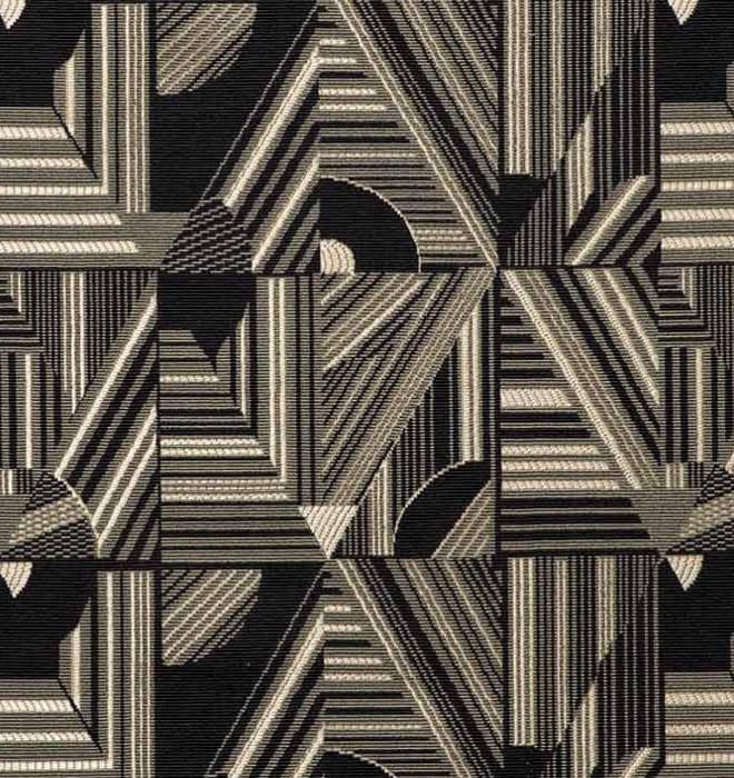 kasai tissu ameublement imprime style art deco ethnique