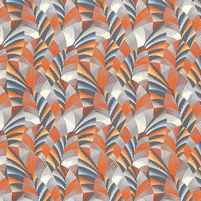 Chrysler tissu ameublement imprim style art d co vintage - Tissu ameublement art deco ...