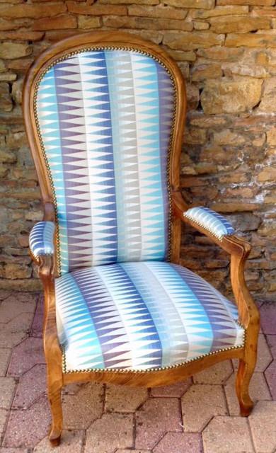 Retapisser un fauteuil alg 233 28 images comment restaurer un fauteuil ancien 28 images id - Retapisser un fauteuil voltaire ...