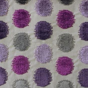 zelda tissu ameublement imprim motifs pois pour chaise fauteuil canap mobilier de jardin et. Black Bedroom Furniture Sets. Home Design Ideas