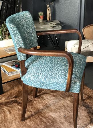 fauteuil en palette plan