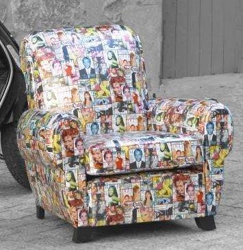 Tissu D Ameublement Fauteuil : les tissus d 39 ameublement pour tapisser les fauteuils club vendus par la rime des mati res ~ Nature-et-papiers.com Idées de Décoration