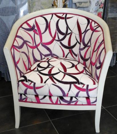 les tissus d 39 ameublement pour tapisser les fauteuils ann es 30 et style art d co vendus par la. Black Bedroom Furniture Sets. Home Design Ideas