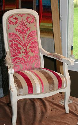 Tissus Moderne Pour Fauteuil Voltaire les tissus d'ameublement pour tapisser voltaire vendus par la rime