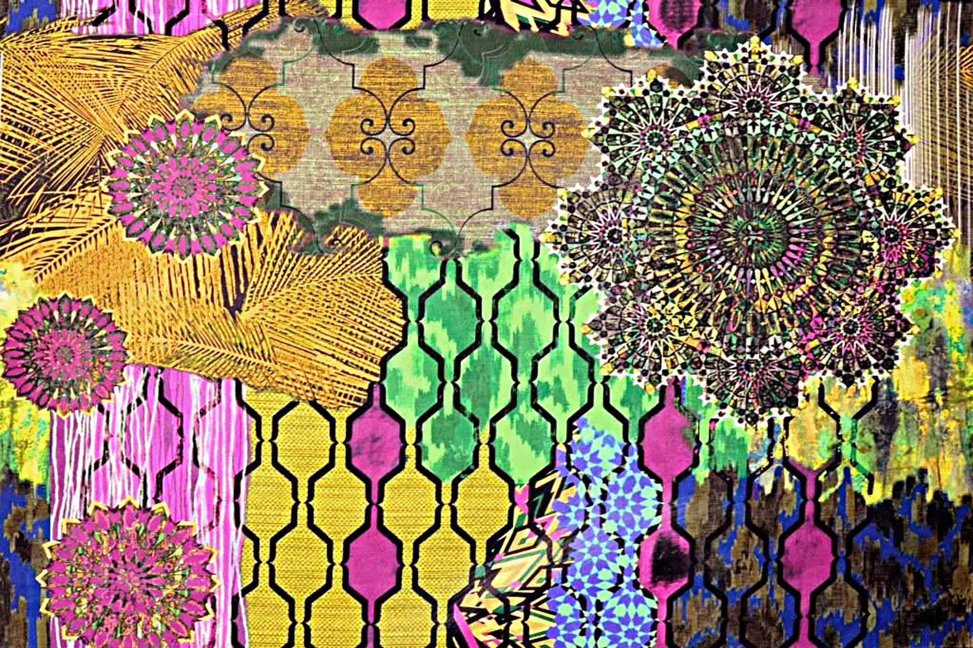 tissu woodstock imprim fantaisie lavable de casal vendu par la rime des matieres. Black Bedroom Furniture Sets. Home Design Ideas